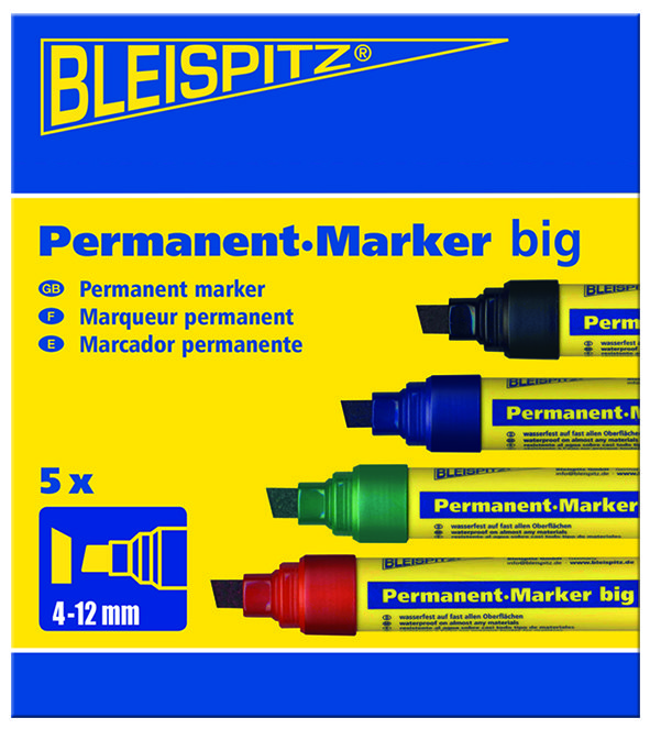 1317 Didelis permanentinis markeris 4-12mm