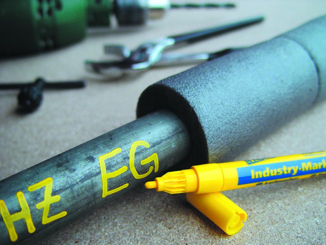 0976 Plonas pramoninis markeris 1-2mm