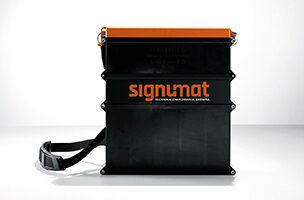 Etikečių medienos žymėjimui plastikinis krepšys Signumat