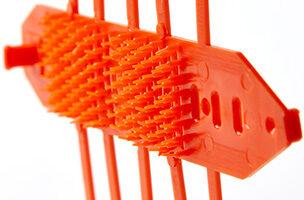Mechaninė  viršutinių ūglių ir pumpurų apsauga, daugkartinio naudojimo, geltona.