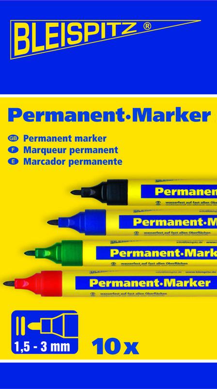 0631 Apvalus permanentinis markeris 1.5-3mm