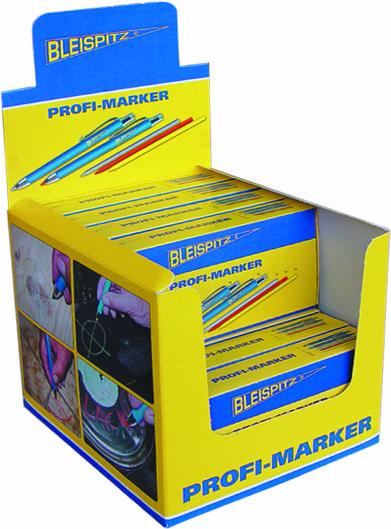 0099 Profi Markeris - universalus žymeklis su drožtuku keičiamos kreidelės/grafitas