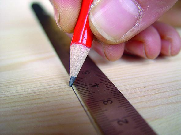1157 Staliaus pieštukas 2H, 175mm