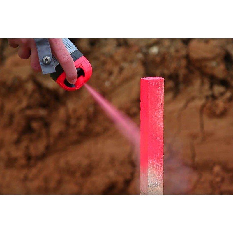 FLUO TP Fluorescenciniai statybvietės dažai [12 mėnesių]