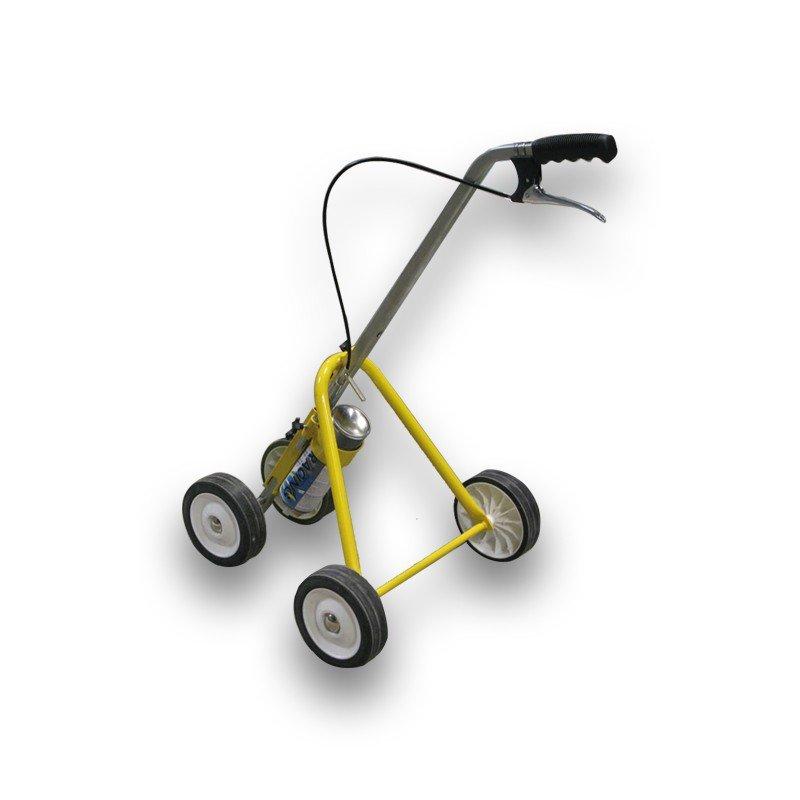 Linijų ženklinimo vežimėlis