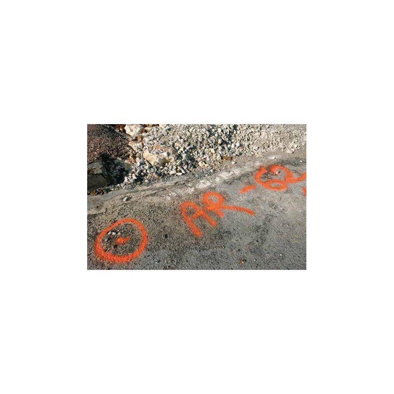 S MARK Fluorescenciniai statybvietės žymėjimo dažai [6 mėnesiai]