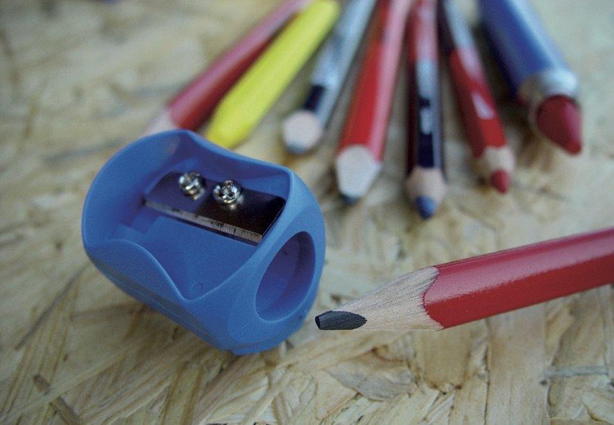 1430 Universalus drožtukas pieštukams ir kreidelėms